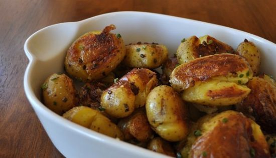 boiled fried and smashed potatoes