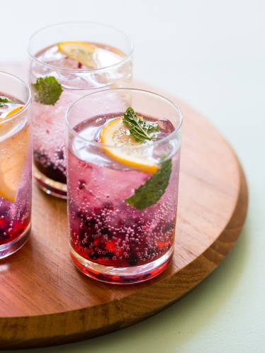 BP Blackberry Lemon GnT